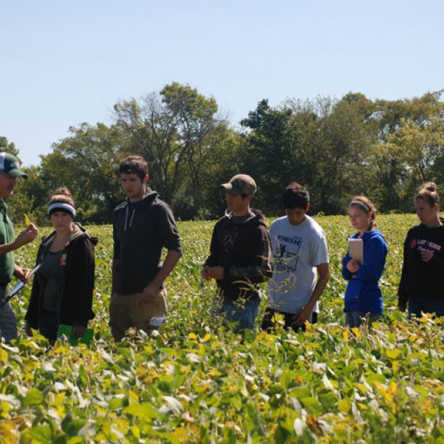 Visit our agriculture classes and farm fields