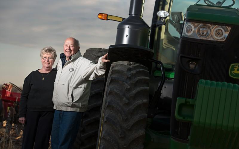 Indiana farm family plants agricultural major at Huntington University