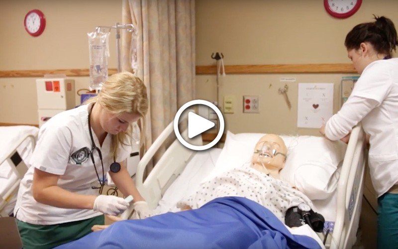 Learn more about nursing degree programs at Huntington University, a Christian college