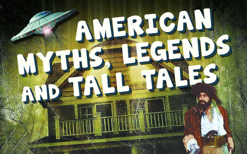 Huntington professors of Bible, English, and history wrote this book on American Myths, Legends, and Tall Tales: An Encyclopedia of American Folklore