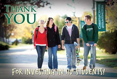 Thank you for investing in HU students!